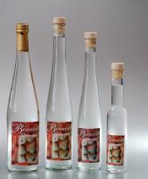 Pear brandy from cultivation of strewing fruit